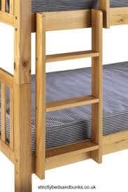 Attach a bunk bed ladder and make the bunk beds accessible