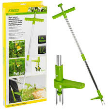 steel weed puller twister claw root