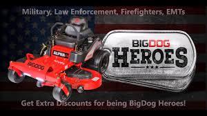 big dog mowers. bigdog mowers alphamp air-cooled seat ▻ stay comfortable! big dog