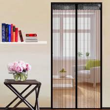 Magnetic Curtains For Doors 90210cm Magnetic Mesh Screen Door Self Closing Curtain For