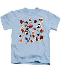 Magnolias On Light Blue Velvet Cloth Magnolia Leaves Kids T Shirts Fine Art America