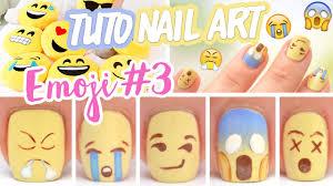 Nail art ♡ Emoji #3 - YouTube