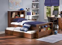 ... Kids Furniture, Kids Bed With Trundle Twin Beds With Storage Bedroom  Cool Twin Bed With ...