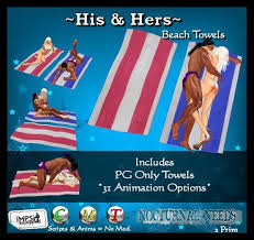 awesome beach towels. His \u0026 Hers Beach Towels - PG Only Awesome R