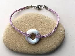 quick donut bead bracelet jewelry making