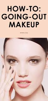 marc jacobs makeup tutorial for a subtle smoky eye perfect going out makeup via byrbeauty