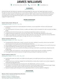 Preschool Teacher Resume Sample Resumelift Com Best Resume Format