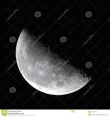 Last Quarter Moon Phase Stock Image Image Of Phase 101500247