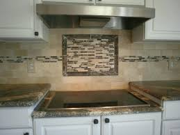 brown subway tile backsplash exciting home interior design using beach glass tile wall ideas favorable cream