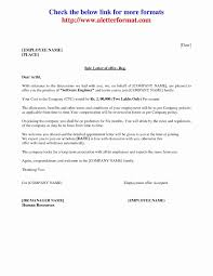 Joining Letter Format Fo As Appointment Letter Format Doc Download