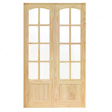 gw leader clearance internal newland clear pine glazed french doors slight imperfections