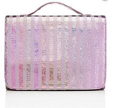 victoria s secret cosmetic bag makeup organizer travel bag with hanging hook