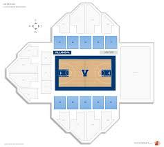 The Pavilion Villanova Seating Guide Rateyourseats Com