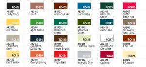 Railmatch Paints Colour Chart Details About Humbrol Rail Colours Paints 14ml Pot Full Range 10p Postage For Each Extra Pot