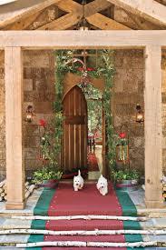 cool door decorating ideas. Christmas Decorating Ideas: Scottish Entry Cool Door Ideas R