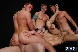 Gay orgy sex men
