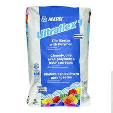 mapei ultraflex 1 50 lb white mortar with polymer