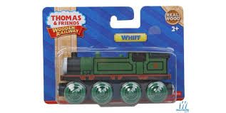 whiff engine thomas friends tm wooden railway green black