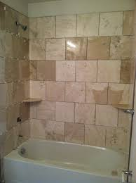 showers for small bathrooms 2. Bathroom. Rectangle White Bathtub And Stainless Shower Plus 2 Cream Small Wall Shelves On Showers For Bathrooms A