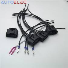 popular automobile wire harness buy cheap automobile wire harness set 4 ignition coil 4 pin 1j0973724 connector repair kit 1j0 973 724 for a4 a6