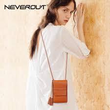 <b>NEVEROUT</b> 2019 Casual Women Bag Split <b>Leather</b> Mini/Phone bag ...