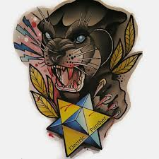 Electric Panther Tattoo Gallery