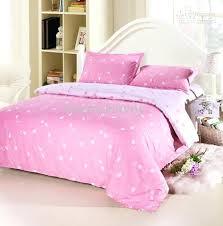 pink bed comforters notes in a bag doona sets 4 full queen size er bedding