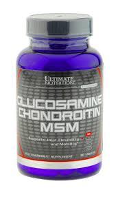 ultimate nutrition glucosamine chondroitin msm kapseln