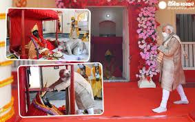 ஜேஷோரிஸ்வரி காளி கோவிலில் வழிபாடு செய்த மோடி