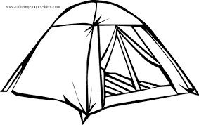 Small Picture Camping Tent Coloring Pages Clipart Free Clip Art Images Clip