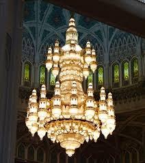 sultan qaboos grand mosque sultan qaboos mosque chandelier
