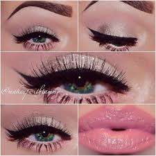 this softer look is perfect for you las who don t want to go too dramatic for this special night letting your natural features pop out through this soft