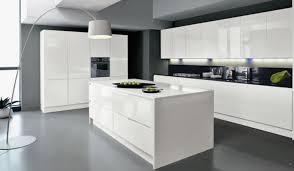 Cuisine Blanc Laque Avec Ilot Beau Cuisine Ikea Blanc Laqu Cuisine
