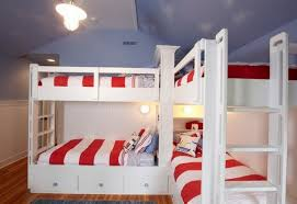 Bunk Beds Can Be Placed In Corner to Save More Place