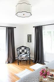 great tips on how high to hang your ds and how wide they should be our master bedroom