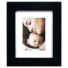 5x7 matted frames black wood hanging photo frame double picture