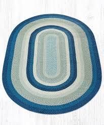 breezy blue taupe ivory 09 362 oval area rug 6x9