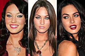 apply a light dusting of powder to set and finish your face megan fox does not seem to apply any blush or cheek color at all if you are unable to pull