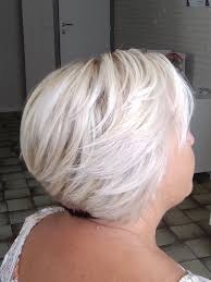 Dames 50 Kapseltrends 2018 Kort Bobkapsel Platina Blond