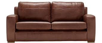 a more modern leather option the mezzo would feel right at home in any gentleman s apartment it s the large back cushions which create the high back of