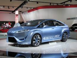 Toyota FCV-R Concept, Hydrogen Fuel-Cell Vehicle In Detroit: Photo ...