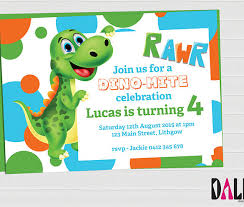 barney party invitation template 15 dinosaur birthday invitations free psd vector eps ai