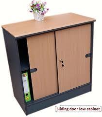 sliding door office cupboard. Office Cupboard/Home Storage Cabinet With Shelves \u0026 Door - (Beech/dark Grey Sliding Cupboard