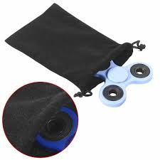 Hand Spinner Design Black Universal Spinner Bag For Hand Spinner Storage Simple Design Bags For Children Adult Edc Fingertip Gyro Toys