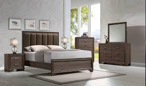 King Bedroom Suite For Cyrille 4pc King Bedroom Set 25837ek