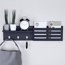 Coat Key Rack Gorgeous Amazon Ballucci Mail Holder And Coat Key Rack Wall Shelf With 32