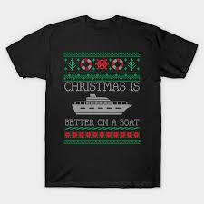 Boating Christmas Is Better On Pontoon Boat Ugly Christmas Sweater
