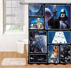 star wars bathroom set luxury shower curtains star wars shower curtain images star wars