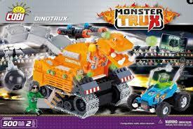 "Пластиковый <b>конструктор COBI</b> ""<b>Dino</b> Trux"" с фигурками людей ..."