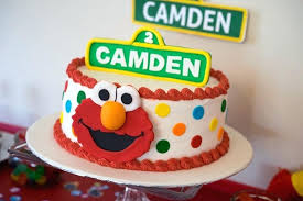 Download Elmo First Birthday Cake Abc Birthday Cakes